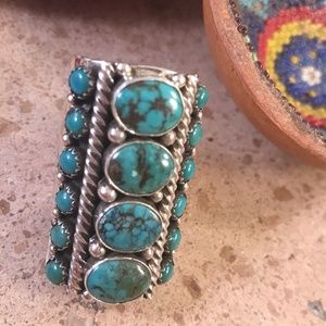Marcella James Tibetan Turquoise and Sterling